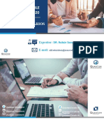 Cierre contable tributario 2020 - Gastos tributarios - QC