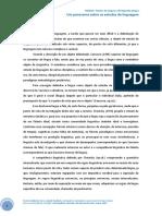 Um Panorama Sobre Os Estudos Da Linguagem