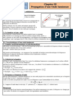 Cours 2 propagation d'une Onde lumineuse