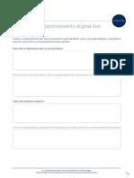 analisar comportamento digital dos seus clientes - exercicio mkt