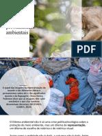 Aula - A Comunicação Visual das problemáticas ambientais