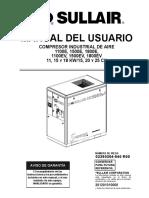 MANUAL USUARIO SULLAIR 1107E A 1812E (PALMAS)