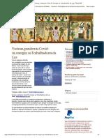 Vacinas, pandemia Covid-19;energia; os Trabalhadores da Luz _ Thoth3126