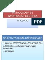 M. DE INVESTIG. CIENTIFICA