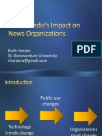 Social Media's Impact on News Organizations