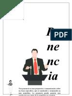 CARACTERISTICAS DE LAS PONENCIAS