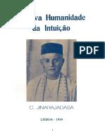 Jinarajadasa - A Nova Humanidade da Intuição