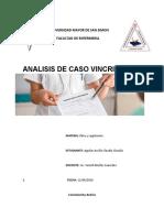 analisis de caso vincristina