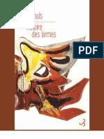 Alan Pauls, Vincent Raynaud - Histoire des larmes - Un témoignage-Christian Bourgois Editeur (2009)