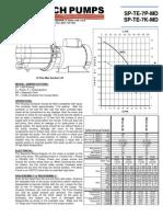 March Pump SP-TE-7K-MD