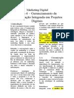 4 - Gerenciamento de Comunicação Integrada Em Projetos Digitais