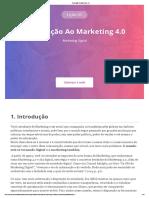 Aula 1-Introdução Ao Marketing 4.0