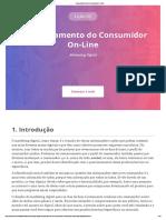Aula 2 - Comportamento Do Consumidor on-Line