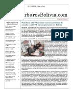 Hidrocarburos Bolivia Informe Semanal Del 28 Febrero Al 06 Marzo 2011