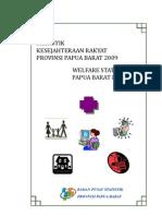 Statistik Kesejahteraan Rakyat Prov. Papua Barat 2009.pdf