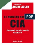 Le Nouveau Rapport de La CIA Comment Sera Le Monde en 2025