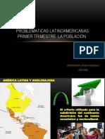 PROBLEMATICAS LATINOAMERICANAS.  POBLACION.ppt