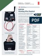 VW2106-VIBRATING WIRE READOUT MIB0033K