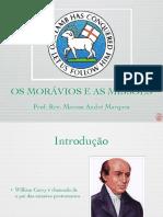 OS MORÁVIOS E AS MISSÕES