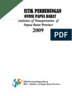 Statistik Perhubungan Prov Papua Barat 2009.pdf