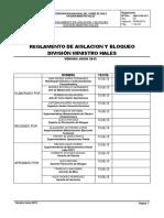 Reglamento de Bloqueo DMH Junio 2013