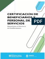 Manual de Usuario para Certificación de Beneficiarios