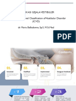 Klasifikasi Gejala Vestibular Dr. Maria Belladonna SpS