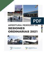 Apertura de Sesiones Ordinarias 2021