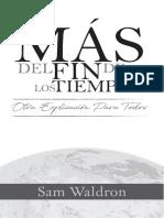 Mas del Fin de los Tiempos - Sam Waldron (sample)