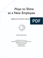 30.WAYS TO SHINE AS A NEW EMPLOYEE