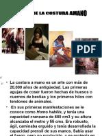 HISTORIA DE LA COSTURA A MANO