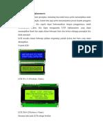 Mengakses LCD Alphanumeric