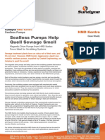 Case Study - Magnetic Drive Pumps for Scrubbing Service
