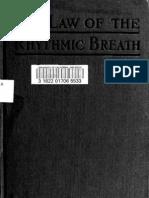 The Law of the Rhythmic Breath - E  A  Fletcher