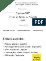 O ano da morte de Ricardo Reis - Capítulo 19