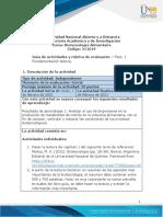 Guía de actividades y rúbrica de evaluación - Fase 1 - Fundamentación teórica