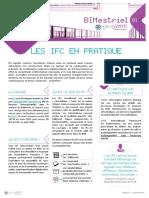 Memo 1 - Les IFC en pratique