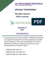 ApprentissageAutomatique