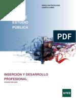 Guía Inserción y Desarrollo Profesional Psicología UNED
