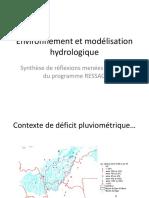 Atelier032011-Environnement et modélisation hydrologique - Paturel