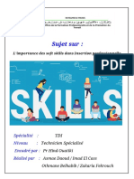 _        L'importance des soft skills dans Insertion professionnelle  vers final