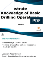 OG7 - 01 - Demonstrate Knowledge of Basic Drilling Operations