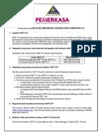 Soalan Lazim (FAQ) PERMOHONAN BAHARU GKP 3.0
