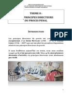 08 Les Principes Directeurs Du Procès Pénal