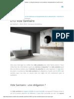 DTU Vide Sanitaire -