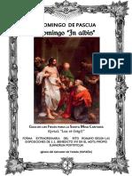 I domingo de Pascua. Guía de los fieles para la santa misa cantada. Kyrial Lux Et Origo