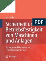 Sander - Betriebsfestigkeit Von Maschinen