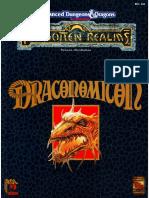 AD&D2ed Draconomicón OCR
