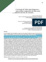 Artigo 01 Processo de Cocriação de Valor