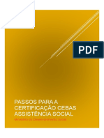 Cartilha CEBAS - Plataforma de Cidadania Digital